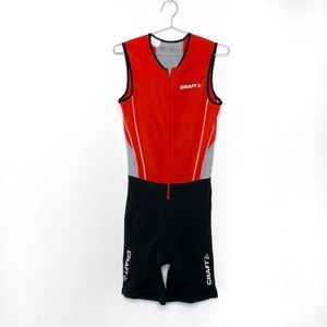 Craft Men's Cycling Endurance Zip Up One Piece